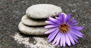 stones+flower